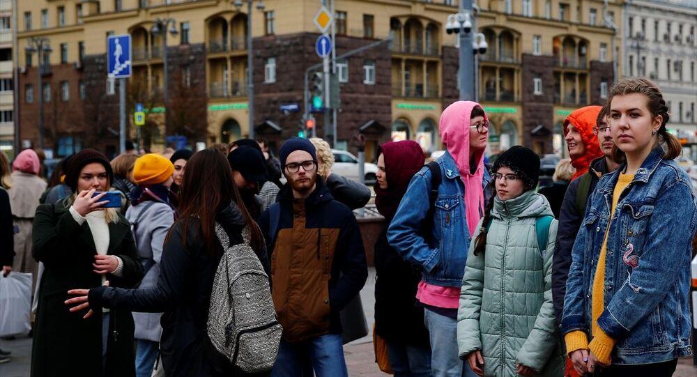 Dünya genelinde iklim değişikliğine karşı Gelecek İçin Cumalar (Fridays for Future) adıyla gerçekleştirilen etkinlikler kapsamında Rusya'da gösteriler düzenlendi. Puşkin Meydanı'nda düzenlenen gösterilere çok sayıda kişi katıldı.
