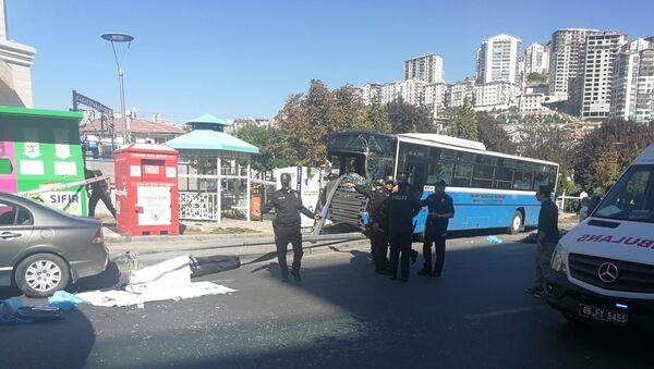 Ankara'da halk otobüsü kazası - Sputnik Türkiye