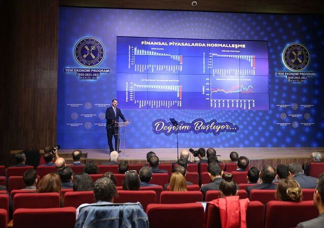 Hazine ve Maliye Bakanı Berat Albayrak, Yeni Ekonomi Programı 2020-2022 Lansman Toplantısına katılarak konuşma yaptı.