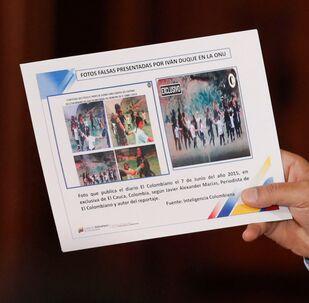 Kolombiya'nın BM'ye sunduğu fotoğraflar istihbarat şefinin istifasına yol açtı