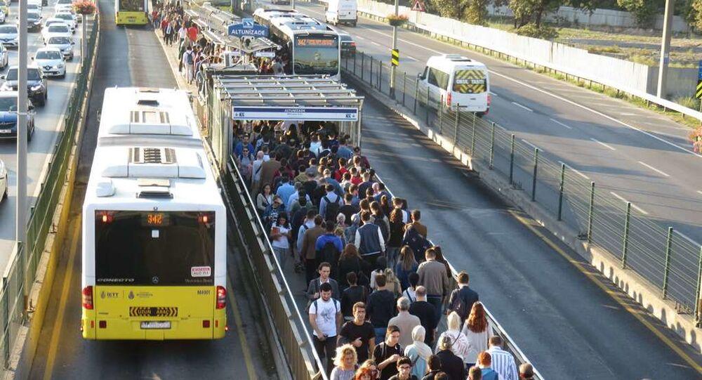 metrobüs - metrobüs yoğunluğu