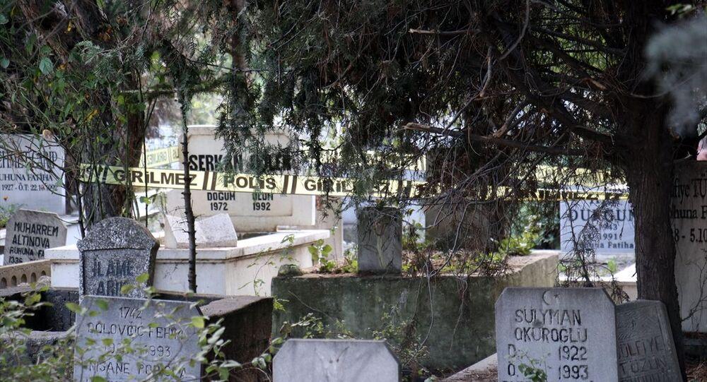 Kırklareli'de mezarda bebek cesedi bulundu