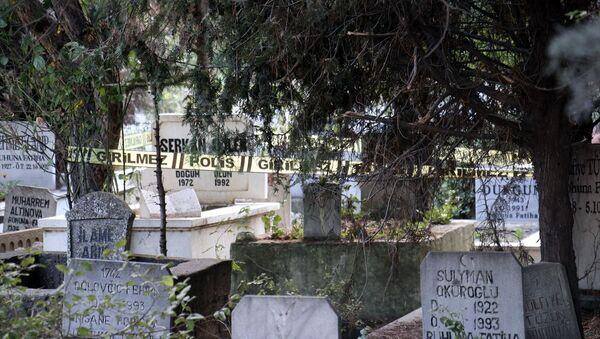 Kırklareli'de mezarda bebek cesedi bulundu - Sputnik Türkiye