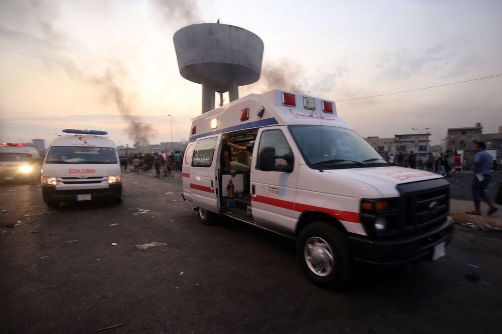 Irak'ta 1 Ekim'den bu yana devam eden hükümet karşıtı gösterilerde 12 kişi hayatını kaybetti.