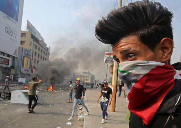 Irak'taki protestolar