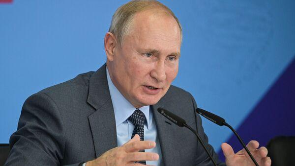 Putin - Sputnik Türkiye