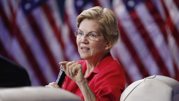 Elizabeth Warren - Sputnik Türkiye