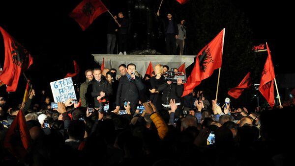 Kosova seçimleri-Kendin Karar Al Hareketi Genel Başkanı Albin Kurti - Sputnik Türkiye