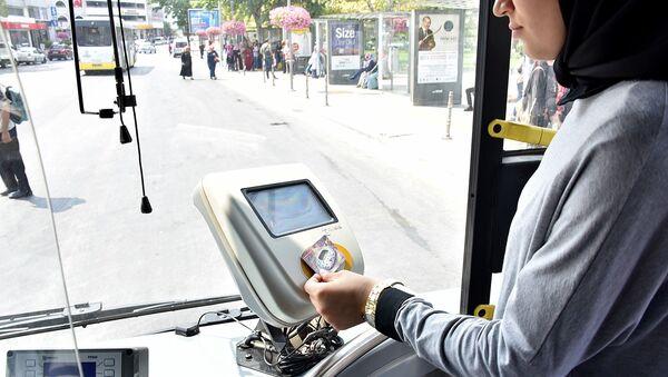 Konya otobüs - Sputnik Türkiye