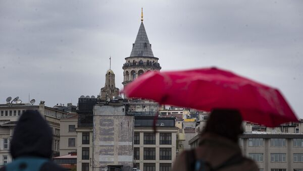 İstanbul'da yağmur - Sputnik Türkiye