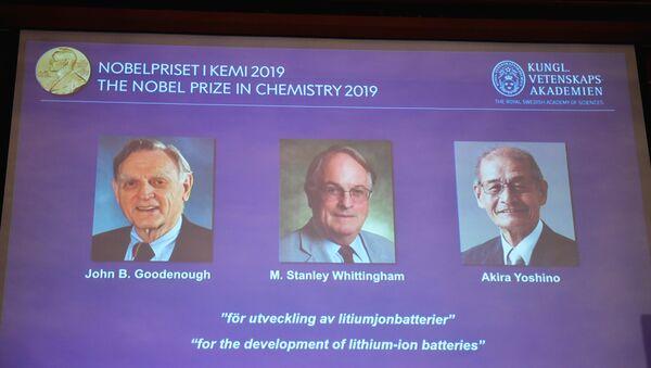 2019 Nobel Kimya Ödülü - Sputnik Türkiye