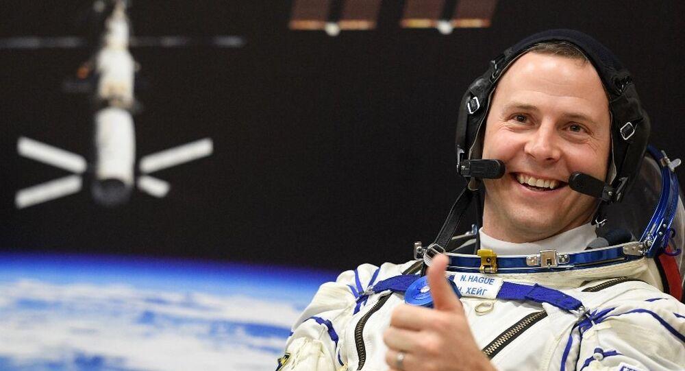 NASA astronotu Nick Hague