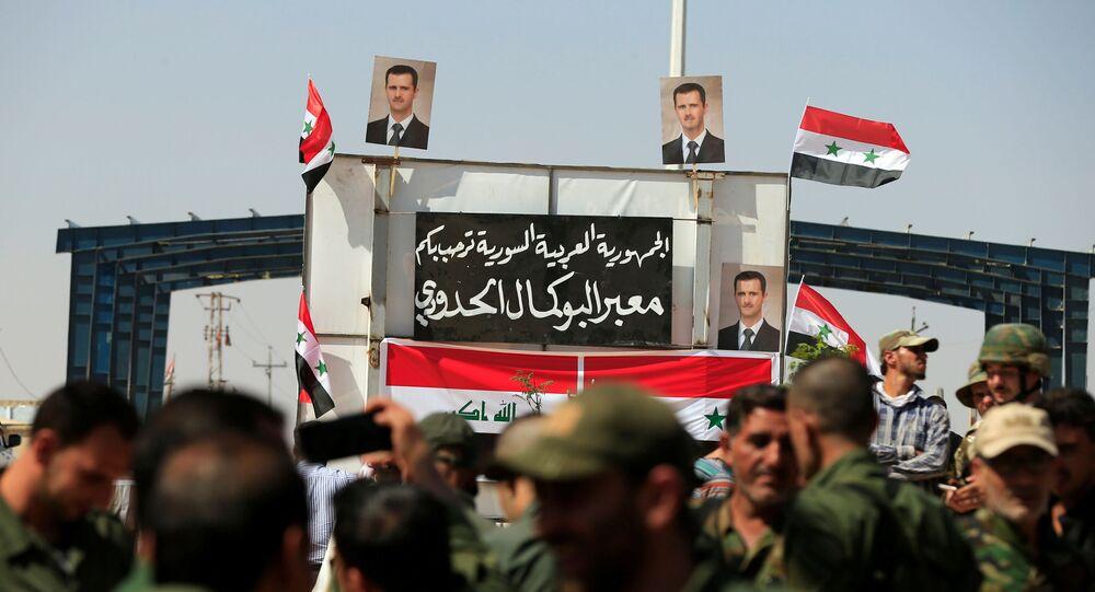Irak'ın Kaim ile Suriye'nin Bukemal kentleri arasındaki sınır kapısı
