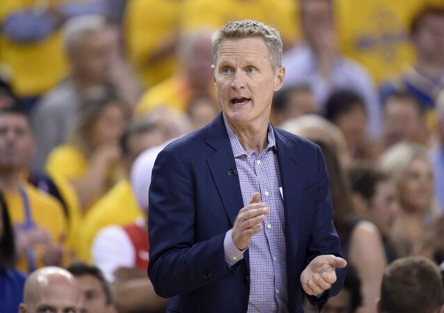 Golden State Warriors koçu Steve Kerr