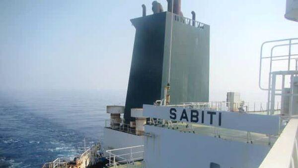 Kızıldeniz'de seyreden Sabiti isimli İran petrol tankeri - Sputnik Türkiye