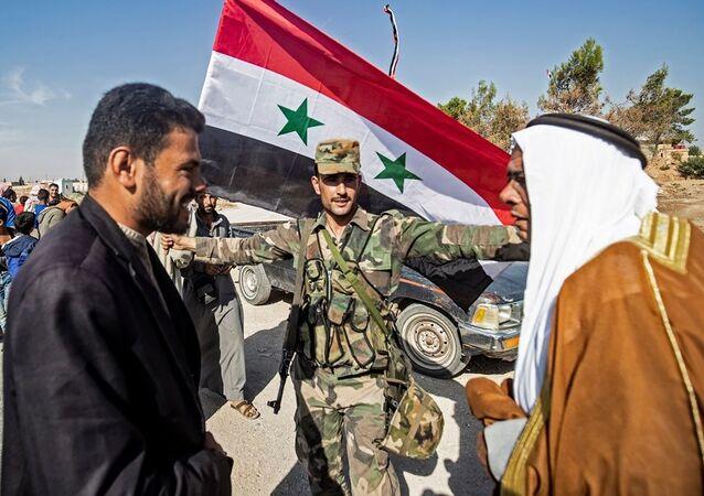 Suriye ordusu Tabka ve Til Temir'e giriş yaptı