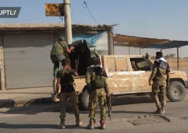 TSK ve SMO kontrolünde olan Tel Abyad'dan görüntüler