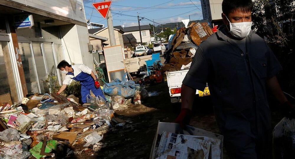 Japonya'yı vuran Hagibis