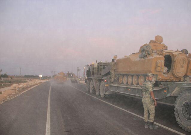Kobani- Suruç sınırına sevkiyat