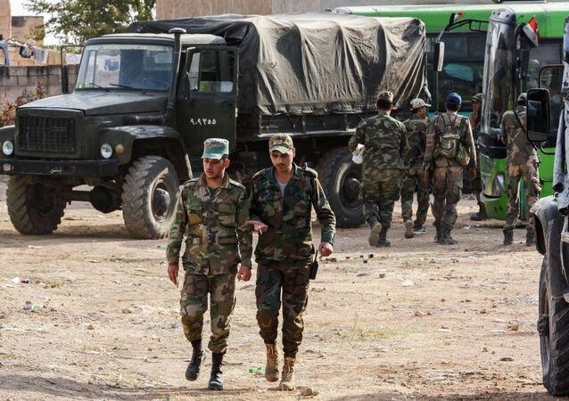 Suriye ordusu Menbiç'te