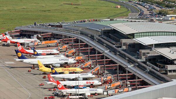 Hamburg Havalimanı - Sputnik Türkiye