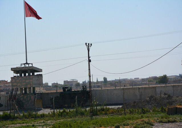 Suriye-Türkiye sınırı