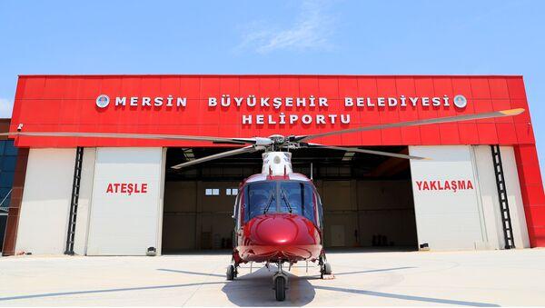 Mersin - helikopter - Sputnik Türkiye
