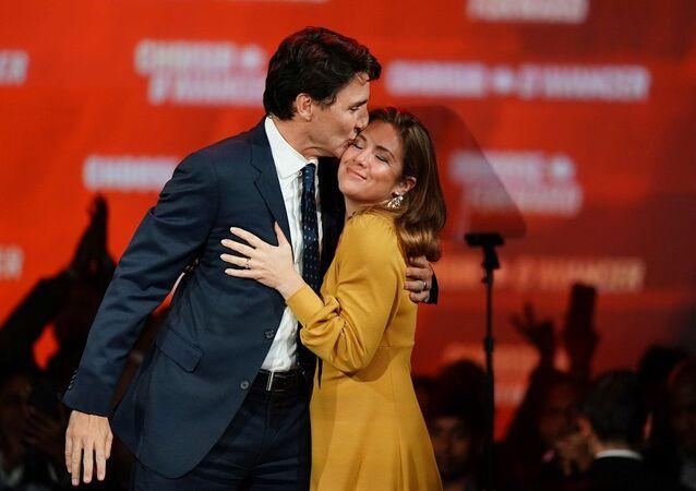 Justin Trudeau eşi Sophie Gregoire ile