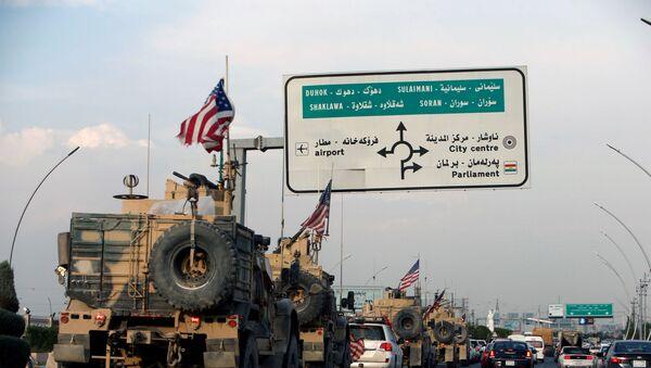 Suriye'den çekilen ABD askerleri, Erbil, IKBY - Sputnik Türkiye