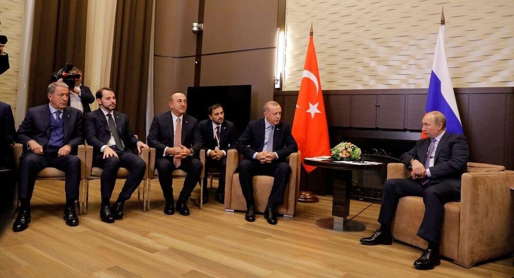 Recep Tayyip Erdoğan ve Rusya Devlet Başkanı Vladimir Putin