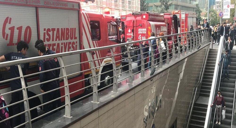 Şişli-Mecidiyeköy metro durağında raylara atladığı belirtilen bir kadın yaşamını yitirdi. Olay nedeniyle metro durağı kapandı. Seferler Yenikapı-Osmanbey ve Levent-Hacıosman arasında yapılıyor.