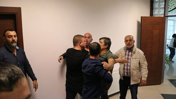 Denizlispor tesislerinde arbede - Sputnik Türkiye