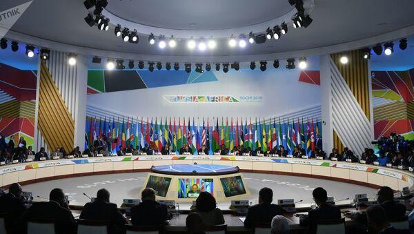 Rusya  Afrika forumu - Sputnik Türkiye