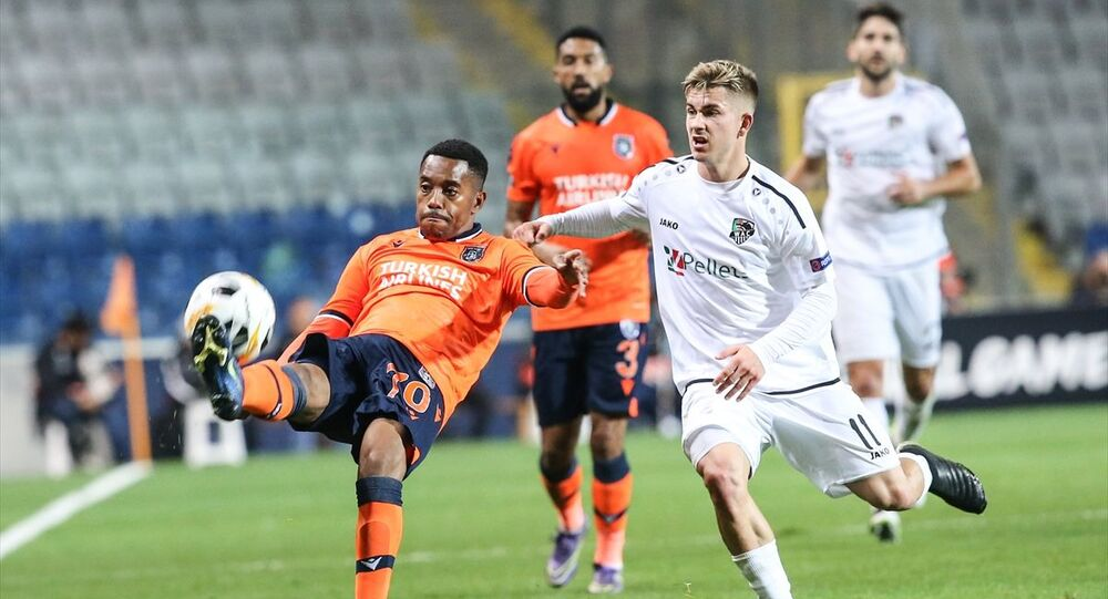 Avrupa kupalarında gruplarda ilk galibiyet Medipol Başakşehir'den