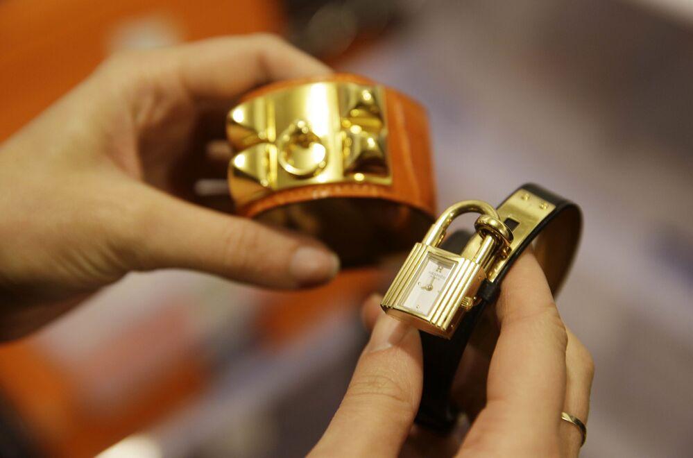 Hermès, 17,92 milyar dolarlık bir marka değerlemesine ve %9'luk büyüme oranına sahip.