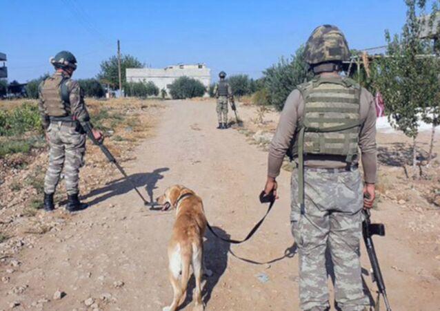 Barış Pınarı Harekatı bölgesindeki Türk askerler