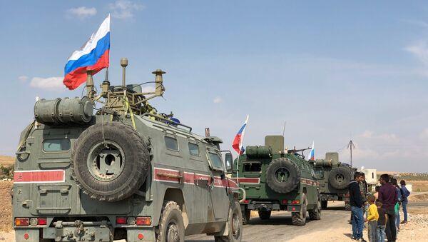 Suriye, Rusya askeri polisi - Sputnik Türkiye
