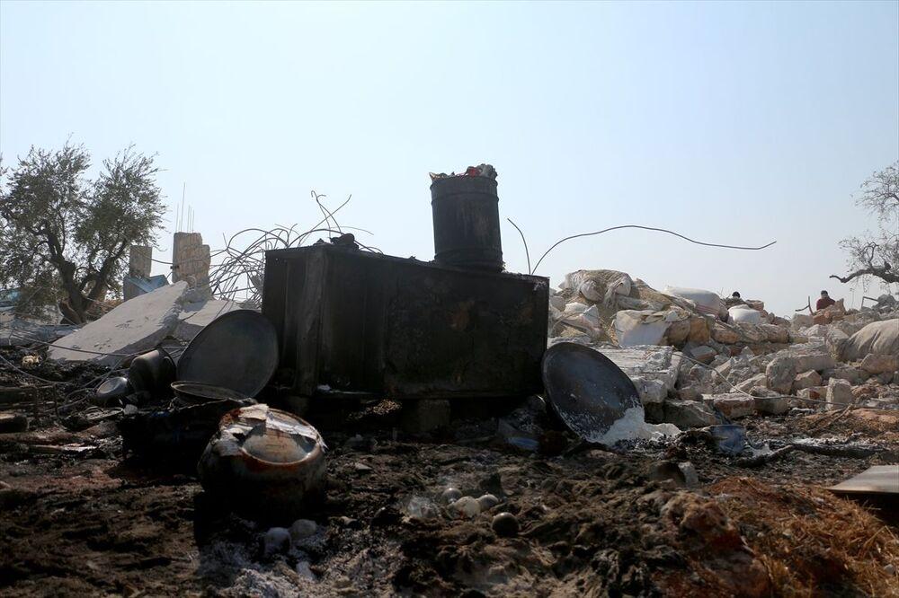 8 ABD helikopteri ve 2 insansız hava aracı (İHA), Barişa köyü yakınlarındaki hedefi bir buçuk saat boyunca yoğun ateş altına almıştı.