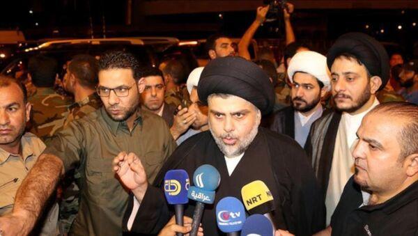 Irak'ta Şii lider Sadr, Necef'teki gösterilere katıldı - Sputnik Türkiye