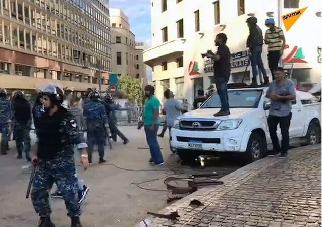 Lübnan - protesto