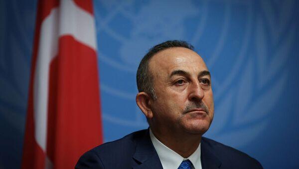 Türkiye Dışişleri Bakanı Çavuşoğlu - Sputnik Türkiye