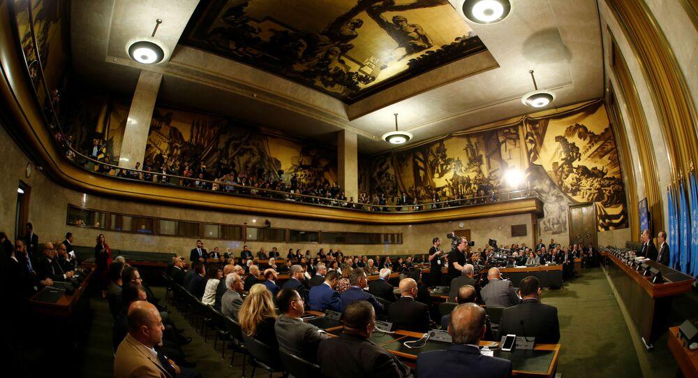 Suriye Anayasa Komitesi ilk toplantısı
