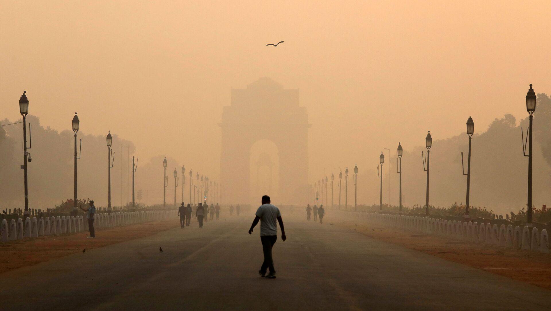 Hindistan'daki hava kirliliği - Sputnik Türkiye, 1920, 01.08.2021