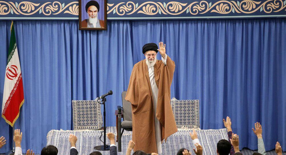 İran lideri AliHamaney