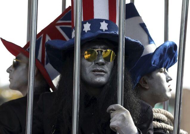 İran'da ABD Büyükelçiliği'nin işgalinin 40. yılı nedeniyle gösteriler düzenlendi