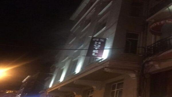 İstiklal Caddesi'nde otel yangını paniğe sebep oldu - Sputnik Türkiye