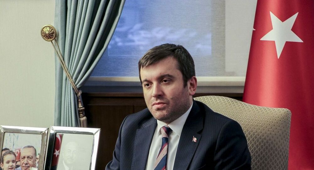 Dışişleri Bakan Yardımcısı Yavuz Selim Kıran,