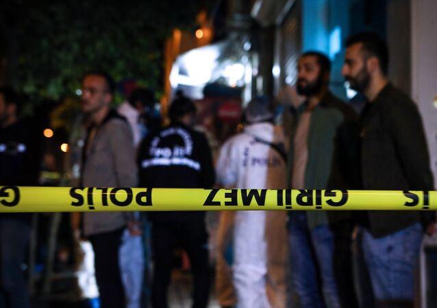 AFAD - polis ekipleri olay yeri incelemeleri