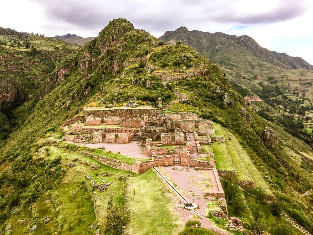 Peru'daki Kutsal İnka Vadisi.