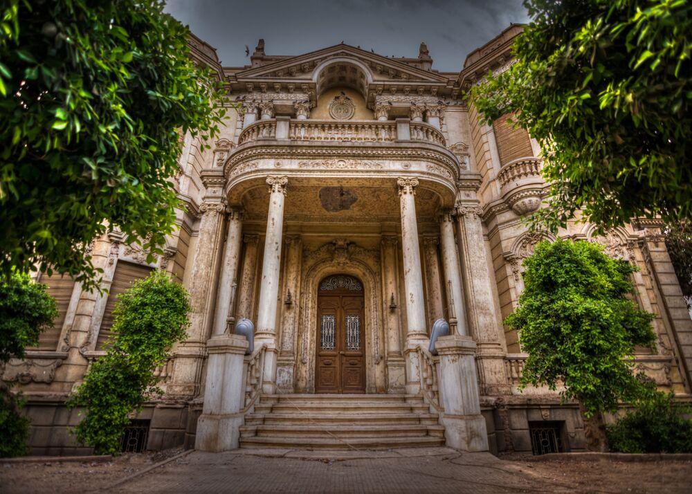 Mısır'ın Asyut kentindeki tarihi Alahan Paşa Sarayı